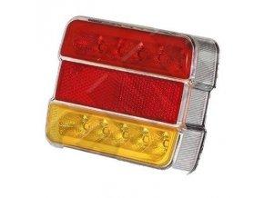 Koncové LED svetlo združené pre prívesy