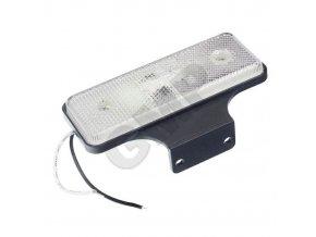 Pozičné svetlo LED pre prívesy biele 12 / 24V