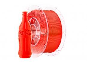 Tlačová struna Swift PET-G červená - neon, Print-Me, 1,75mm, 1kg