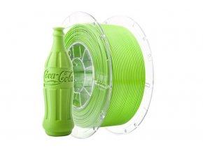 Tlačová struna Swift PET-G zelená - limetková, Print-Me, 1,75mm, 1kg