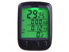 Tachometer na bicykel Sun Ding, vodotesný, 25 funkcií
