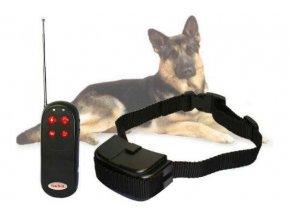 Obojok elektronický výcvikový 4v1 DOG CONTROL T02 vibrácie, výboj