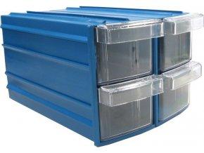 Krabičky na součástky stohovací KOD Y114 155x111x95mm