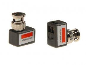 Pasivní převodník BNC-UTP úhlový (pár,dva kusy)