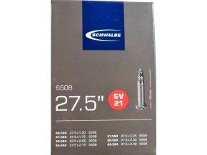 """duše SCHWALBE SV21 27.5""""x1.50-2.40 (40/62-584) FV/40mm"""