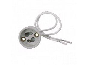 Patice pro žárovky GU10 keramická