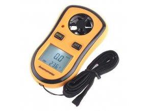 Anemometer - digitálny merač rýchlosti vetra a teploty GM8908