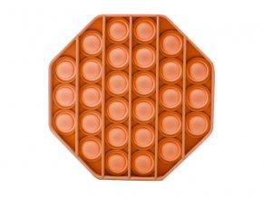 Pop It Oktagon oranžový