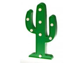 LED dekorace Kaktus, 30 cm