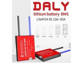 Smart BMS pre 4S LiFePO4 články (12,8V) 50A