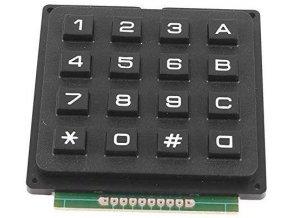 Maticová klávesnica 4x4