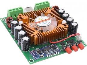 Bluetooth prijímač a zosilňovač 4x50W s TDA7850, modul XH-A373