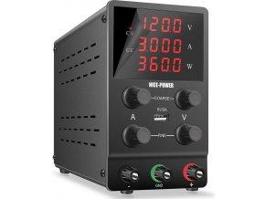 Laboratórny zdroj Nice-Power SPS1203 0-120V / 0-3A