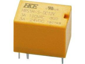 Relé HRS1H-S-DC12V /N4100/ 12VDC, kontakty 24VDC(120VAC)/3A