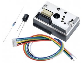 Optický senzor kvality ovzdušia, modul GP2Y1014AU0F