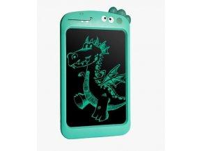 Tablet na kreslenie 8,5 palca, zelený dinosaurus