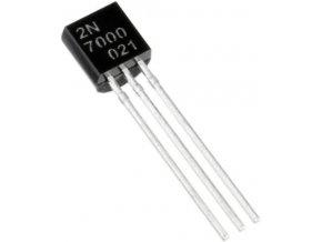 2N7000 MOSFET N-FET 60V / 0,35 TO92