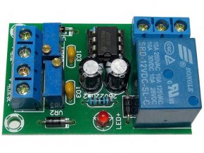 Modul XH-M601 pre kontrolu nabíjanie batérie 12V - stavebnice