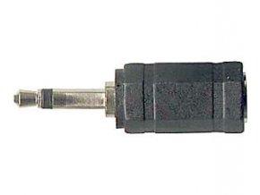 Redukcia JACK 3,5 mono konekt / JACK 3,5 stereo zdíř.