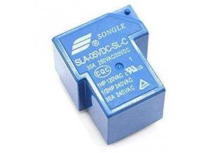 Relé Songle SLA-12VDC-SL-C 12V, prepínací kontakt 250VAC / 30A