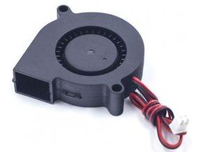 Ventilátor radiálny 5015 50x50x15mm 12V / 0,16A 4600 ot / min.