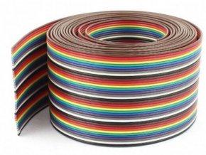 Kábel plochý Dupont 24AWG 40x0,2mm2, rozteč 2,54mm / PNLY /