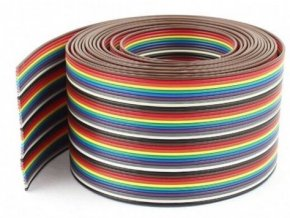 Kabel plochý Dupont 24AWG 40x0,2mm2, šířka 55mm /PNLY/