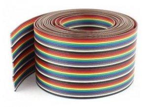 Kábel plochý Dupont 26AWG 40x0,13mm2, rozteč 1,27mm / PNLY /