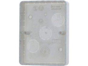 Krabica na omietku dvojitá nízka 4FA24927