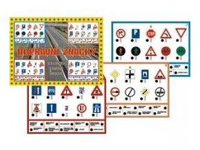 Dopravné značky, stolný výuková hra