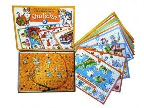 Školička 2, stolný výuková hra pre predškolákov