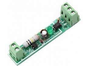 Indikátor síťového napětí 230V AC s optočlenem
