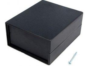 Krabička plastová Z5A / KP3 / 110x90x48mm s bočnými panelmi