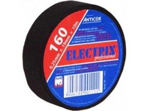 Textilná páska 0,25 x 19mm x 10m čierna ANTICOR