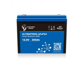 LiFePO4 akumulátor Ultimatron YX Smart BMS 12,8V / 200Ah