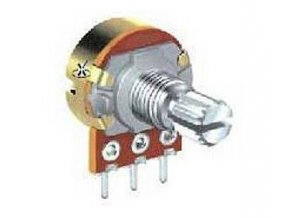 25k / N ALPHA, hriadeľ 6x30mm, potenciometer otočný