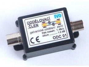 Galvanický odd. krajín 5-800MHz s konektormi IEC