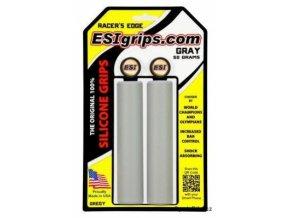 gripy ESI Racer's Edge šedé