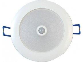 Stropné svetlo LED ST481A s PIR čidlom do podhľadov, 230V / 7W