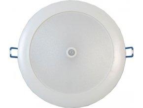 Stropné svetlo LED ST481C s PIR čidlom do podhľadov, 230V / 19W