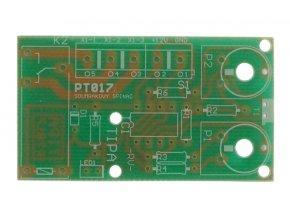 Plošný spoj TIPA PT017 Súmrakový spínač s relé 230V/8A