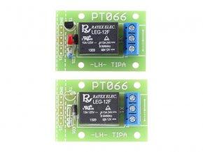Stavebnica TIPA PT066A Relé doska so spínacím tranzistorom a LED