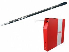 bowden SunRace OCSSP řadicí 4mm x 50m černý role