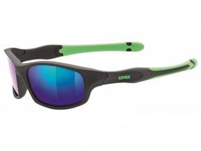 brýle UVEX Sportstyle 507 černo/zelené