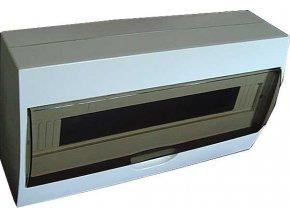 Rozvádzač TSM-18 plastový 1x18P nástenný