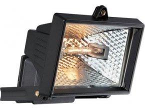 Reflektor 150W halogénový čierny