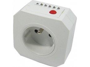 Časový spínač, spínacia zásuvka 230V s rozsahom 15min-15hod a 45min