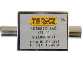 Anténny zosilňovač pásmový K21-69 dvoutranzistorový, TEROZ 453K