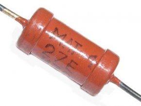 1M5 MLT-1, rezistor 1W metaloxid