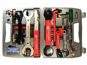 klíče - kufr s nářadím BIKE HAND 19ks